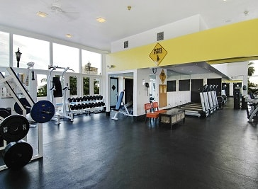 Outback Fitness at Bahia Mar Beach Resort in Fort Lauderdale